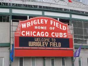"I would like to see ""World Series Champs!"" on this marquee in my lifetime, wouldn't you?"